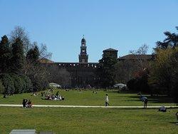 Il vastissimo Parco Sempione - 06