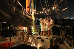 Night lounge sail Old San Juan