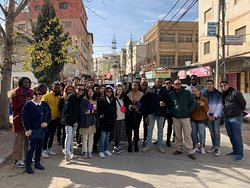 Ramallah and Bethlehem Tour with students from New York University.