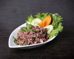 Laab boeuf (salade épicée)