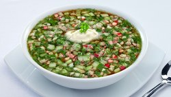 Okroshka - Russian Summer Cold Soup