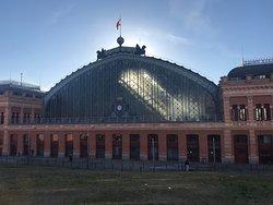 Madrid-Puerta de Atocha Train Station