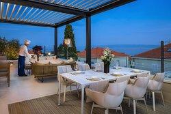 Residence ALBA Split lounge area & snack bar