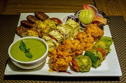 Veg Platter In Dinner Buffet at It's Mirchi