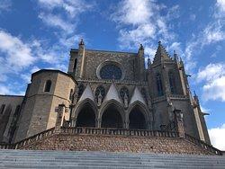 Basilica Santa Maria De La Seu, Manresa, Espanha.