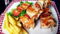 Deliciosos Pinchos de Pollo