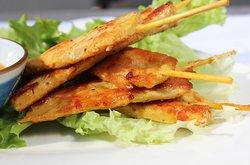 Brochettes de poulet Thailandaises
