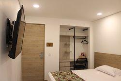 Nuestras habitaciones cuentan con camas dobles, queen y king size.