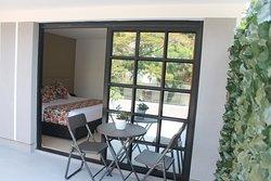 Habitación Suite con terraza.