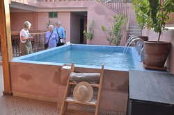 The best place to meet friends for lunch or drinks in one of the authentic Riad at Maison ka Marrakech