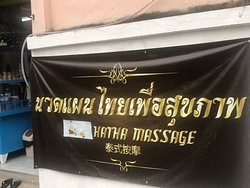 Here's the entrance, the owner and the very talented healing masseuse