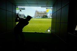 シミュレーションゴルフマシンは全3台。