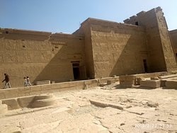 A view of the Temple of Isis at Philae.