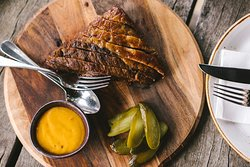 Beef Brisket with Chipotle Mayo.
