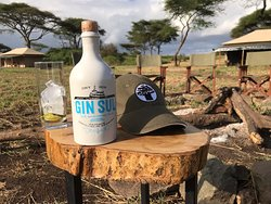 There is always time for a Gin & Tonic after Full Day Game Drive