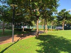 Nice park beside hotel