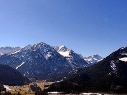 Alpenkette am Oberjoch