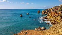 Tour Costa Algarvia Algarve Coast Tour Tour de la côte de l'Algarve Algarve-Küsten-Tour Tour Costa del Algarve