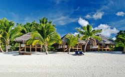 Beach front villas