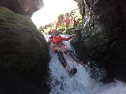 Amazing canyoning trip from Edinburgh with Intrepidus Outdoors