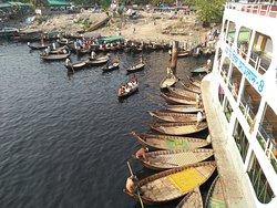 Sadarghat Boat Terminal.