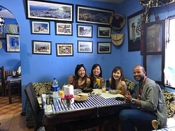 me and esther an erica and ella in chefchaouen