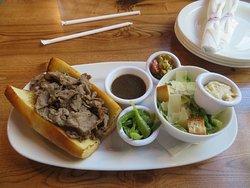 Italian Beef & Caesar Salad