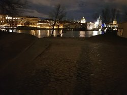 Great views across the Vltava River