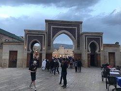 The blue door of Fez