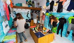 surf shop- Naxos kitelife kitesurfing school