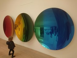 One of the Anish Kapoor exhibits