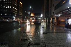 하코자키선 고후쿠마치 역의 출입구