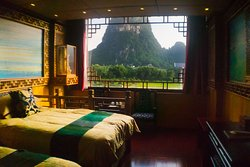View from Xiapu room, Li River Gallery Lodge