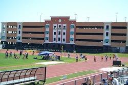 Track Meet on Campus.