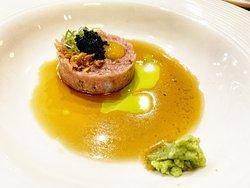 Tuna Tartar with quail egg