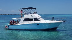 private charter on our #bertram sportfish
