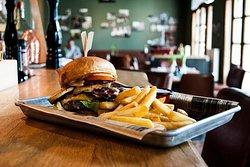 Bester Burger der Stadt - der Galloway Cheeseburger!