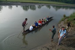 cannoning Trip at Rapti River in chitwan National Park
