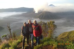 sunrise point near mount bromo