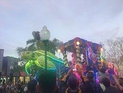 Mardi Gras parade.
