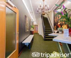 Lobby at the Hotel Fita