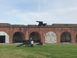 Pictures of Fort Pulaski National Monument, Cockspur Island, SC