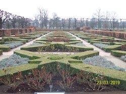 Gardens at Rosenborg castle