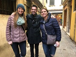 My friend Hannah and I with our incredible guide!