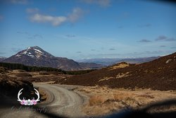 A shot of Schiehallion whilst on the move