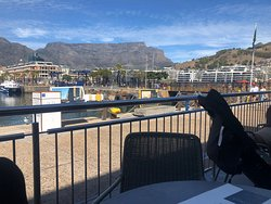 Great food and great view