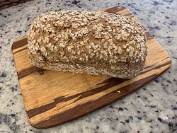 Power bread. Made with 8 different grains.