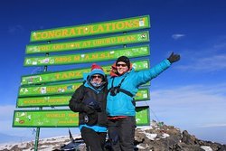 Summit of Kilimanjaro, January 2013