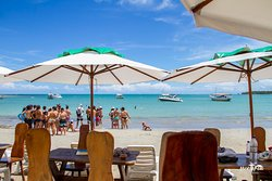 Praia de Gurapua, Morro de S. Paulo,  considera uma das praias mais lindas de Morro, e também vista por muitos turistas como Caribe Baiano.