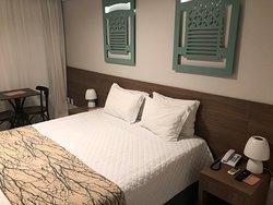 Hotel confortável e bem localizado